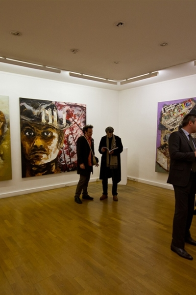 Exposition retrospective, Galerie Messine, Paris, 2012.
