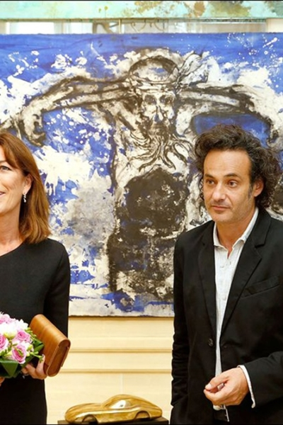 Du paysage à a l'intime, rencontre Fred Kleinberg et Caroline de Monaco, Galerie Rilbozi, Monaco. 2015.