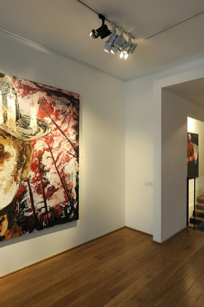 Baroque flesh , vue de l'exposition, Galerie polad Hardouin, Paris, 2011.