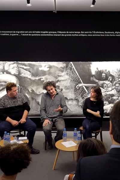 Odyssée, vue de l'exposition, solo show, ART Elysée, Paris. 2017.