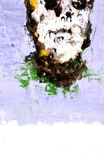 Vanité, huile sur toile 20x30 cm, 2001. Collection privée.