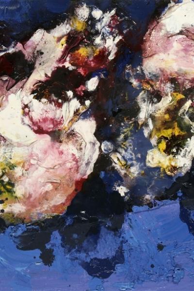 Vanité III, huile sur toile 20x30 cm, 2001. Collection privée.