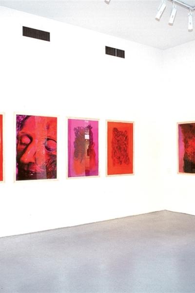 La mémoire au corps, vue de l'exposition, Fondation Coprim, Paris, 1999.