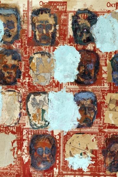 disparues, huile sur toile 200x250 cm, 2001. Collection privée.