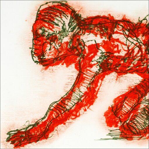 Animalité, détail, 2002, gravure, 55x76 cm, Fred Kleinberg, art édition.