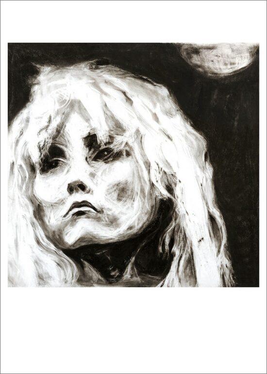 Blondie, 2021, impression encre pigmentaire, 50x70 cm, Fred Kleinberg, art édition .