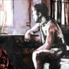 Entretemps, détail, 2021, impression encre pigmentaire, 50x70 cm, Fred Kleinberg, art édition.