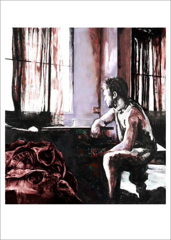 Entretemps, 2021, impression encre pigmentaire, 50x70 cm, Fred Kleinberg, art édition.