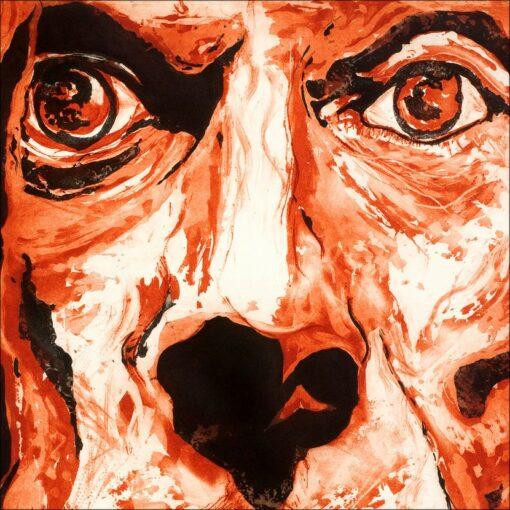 Iggy Pop, 2010, gravure, 75x105 cm, Fred Kleinberg, art édition.