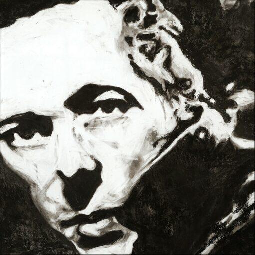 Joe Strummer, 2021, impression pigmentaire, 50x70 cm. Fred Kleinberg, art édition.
