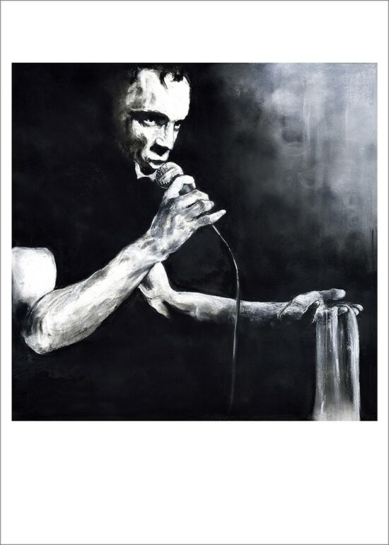 Mano Solo, 2021, impression encre pigmentaire, 50x70 cm, Fred Kleinberg, art édition.