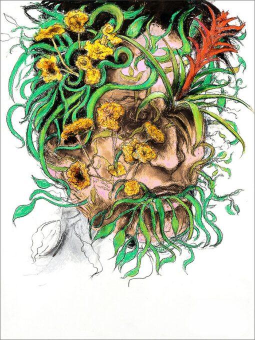 Métamorphose II, 2021, impression encre pigmentaire, 30x40 cm, Fred Kleinberg, art édition.