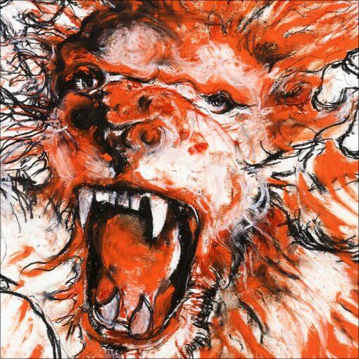 Scream, détail, 2021, impression encre pigmentaire, 30x40 cm, Fred Kleinberg, art édition.