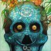 Vanité mexicaine, détail, impression encre pigmentaire, 30x40 cm, Fred Kleinberg, art édition.