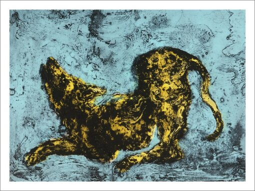 Yellow, 2021, impression encre pigmentaire, 30x40 cm, Fred Kleinberg, art édition.