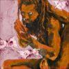 Yogi, détail, 2021, impression encre pigmentaire, 30x40 cm, Fred Kleinberg, art édition.